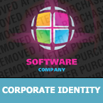Software Corporate Identity Template 23737