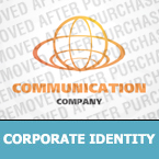 Communications Corporate Identity Template 23738