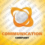 Communications Logo  Template 23761