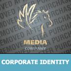 Media Corporate Identity Template 23825