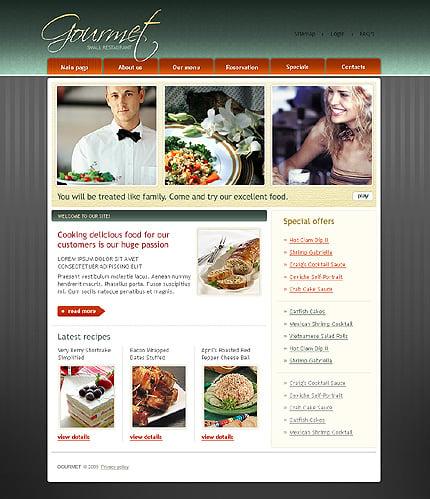 Realizare site restaurant