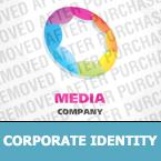 Media Corporate Identity Template 24022