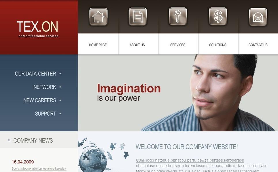 Swish шаблон №24073 на тему бизнес и услуги New Screenshots BIG