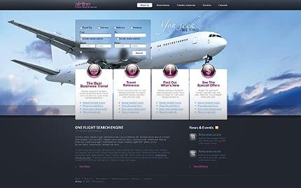Pagini web companie aeriana