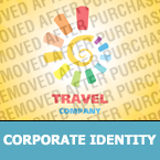 Travel Corporate Identity Template 24105