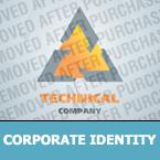 Corporate Identity Template 24106