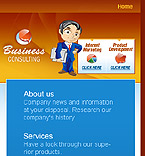 Mobile: Business Wide Templates Mobile Templates