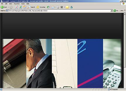 HTML Template 24168 Home Page Screenshot