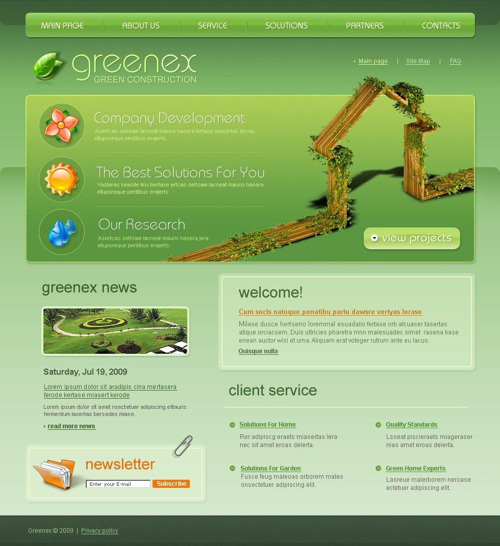 Garden design website template 24128 for Garden design websites