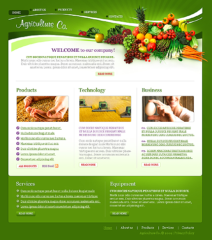 Creare site agricultura