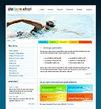 Kit graphique education 24269 nager sport école