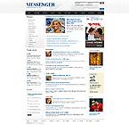 Kit graphique média 24290 messenger nouvelles portail