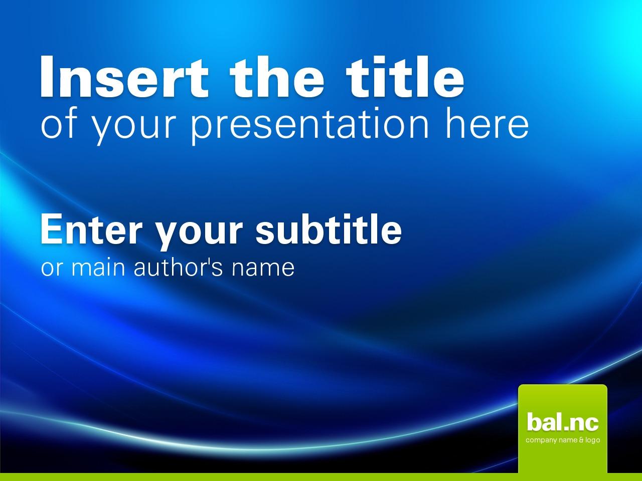 Modello PowerPoint #24233 per Un Sito di Business e Servizi