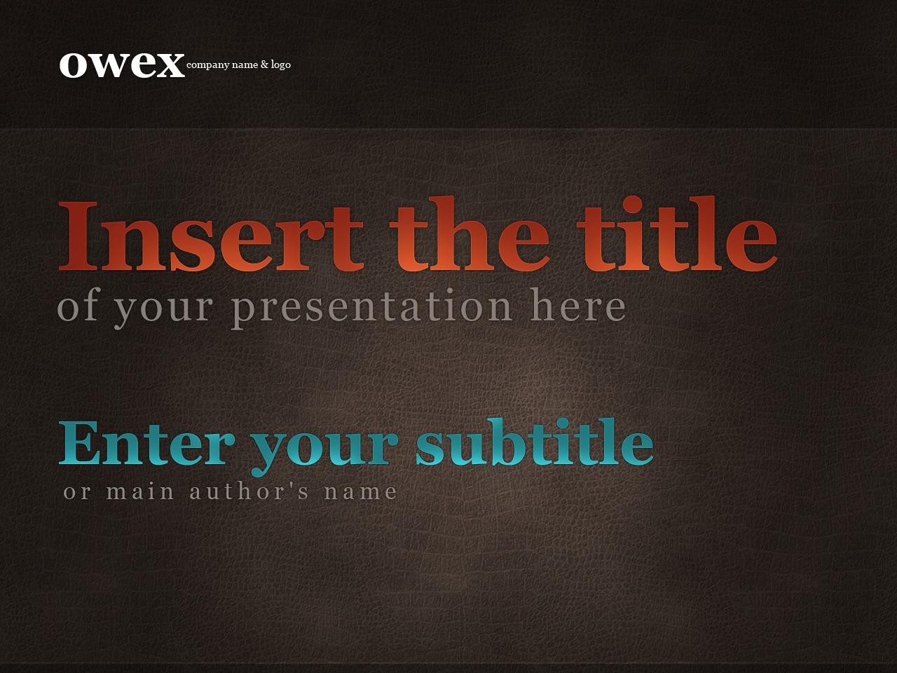 Tema PowerPoint #24222 per Un Sito di Business e Servizi