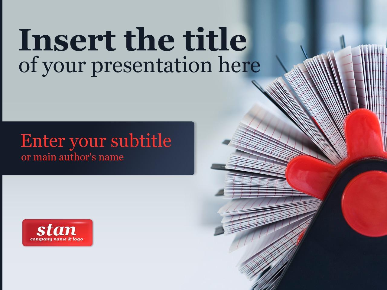 Template PowerPoint #24226 per Un Sito di Business e Servizi