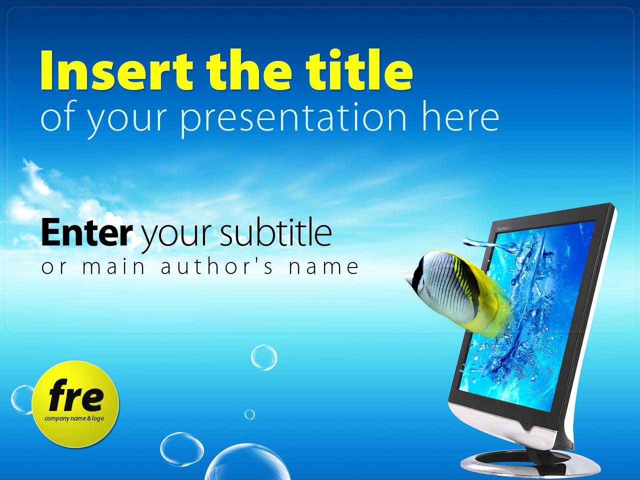 Template PowerPoint para Sites de Agencia de marketing №24230