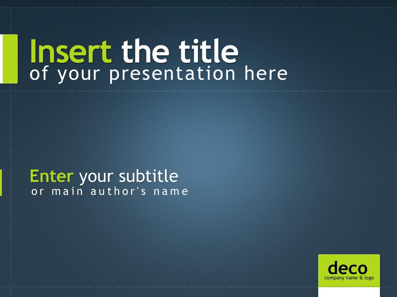 Template PowerPoint para Sites de Negócios e Prestadores de Serviços №24219