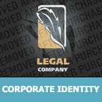 Law Corporate Identity Template 24339