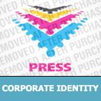 Media Corporate Identity Template 24340