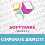 Software Corporate Identity Template 24376