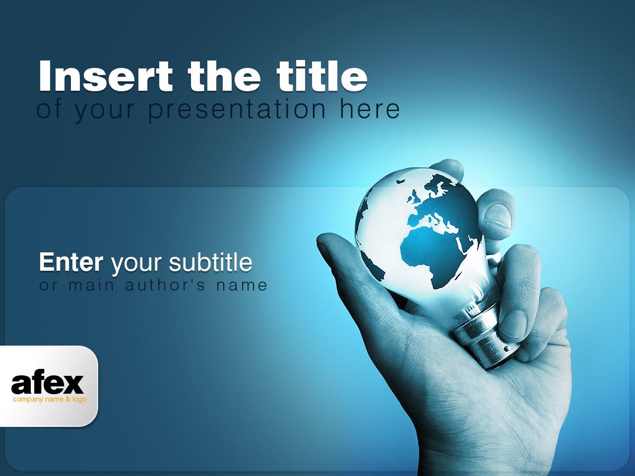 Template PowerPoint para Sites de Agencia de marketing №24379