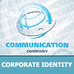 Communications Corporate Identity Template 24428
