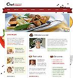 Kit graphique alimentation et boissons 24450 chef cookery cuisiner