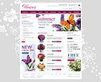 Kit graphique fleurs 24454 fleur en ligne shop