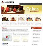 Kit graphique alimentation et boissons 24461 délices  gâteau
