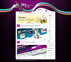Kit graphique kits wordpress 24515 art blog page web