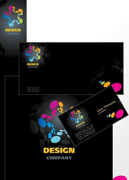 Web Design Corporate Identity Template Vector Corporate Identity preview