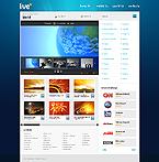 Kit graphique média 24542 vivre tv channel