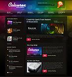 Kit graphique kits wordpress 24544 colourex conception webblog