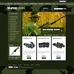 Zen Cart: Online Store/Shop Military Zen Cart Templates Wide Templates