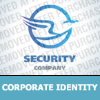 Security Corporate Identity Template 24627