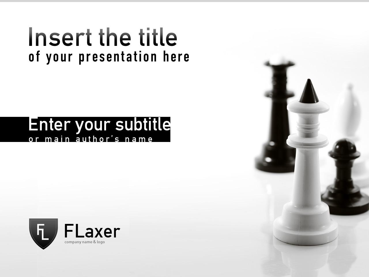 Template PowerPoint #24640 per Un Sito di Agenzia di Marketing