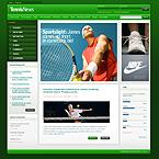 Kit graphique média 24700 tennis nouvelles sport