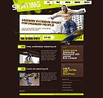 Kit graphique kits wordpress 24706 patinage blog patins