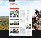 Kit graphique kits wordpress 24707 sport blog divertissement