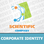Science Corporate Identity Template 24731
