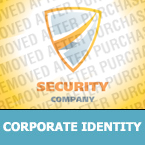 Security Corporate Identity Template 24732