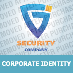 Security Corporate Identity Template 24734