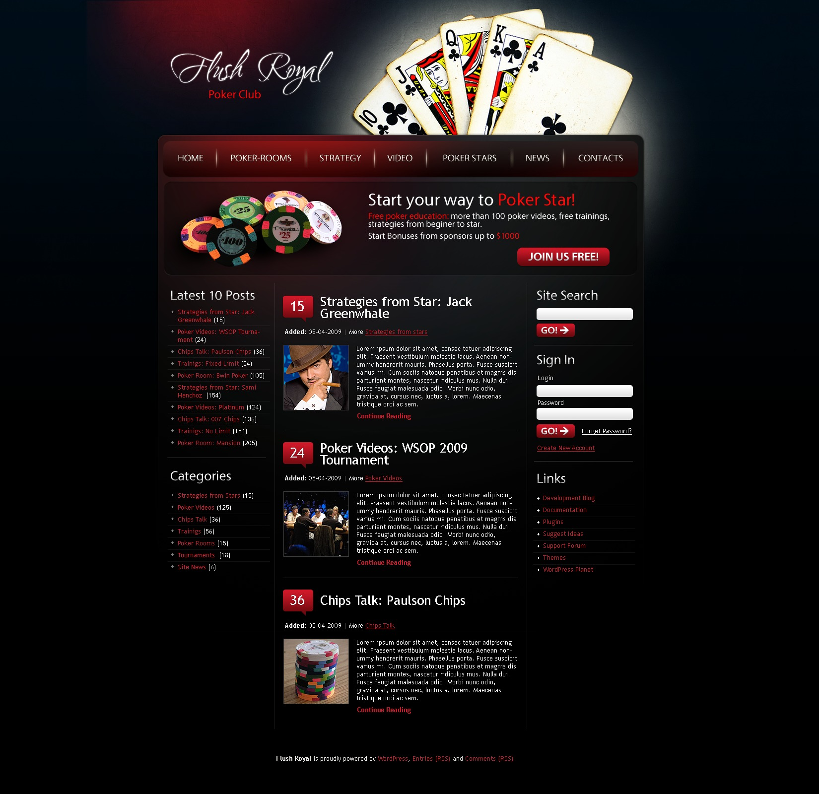 Online poker wordpress theme 24708 online poker wordpress theme pronofoot35fo Image collections