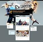 Kit graphique kits wordpress 24831 extrêmes blog sport