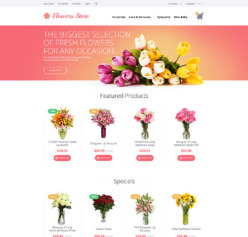 holiday web templates flowers st valentine gifts christmas