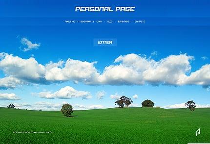 SWiSH Template 24930 Main Page Screenshot
