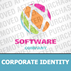 Software Corporate Identity Template 24959