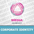 Media Corporate Identity Template 24960