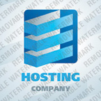 Web Hosting Logo  Template 24965