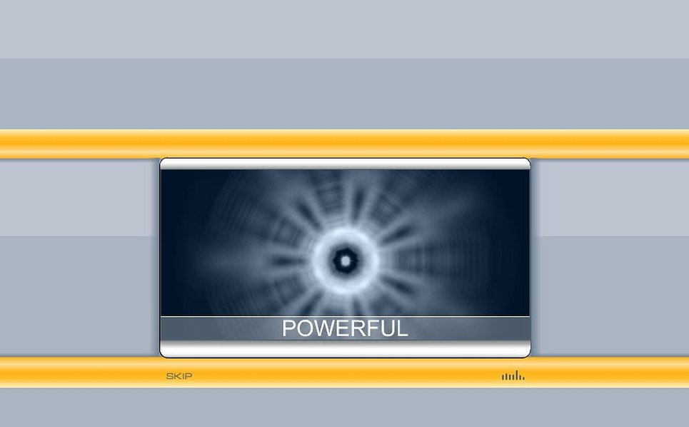 Plantilla Flash Intro #2508 para Sitio de Hosting New Screenshots BIG